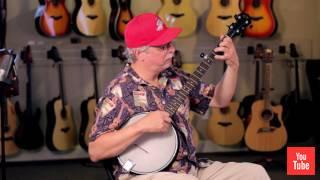 Gold Tone AC-1 5-String Openback Banjo with Gig Bag
