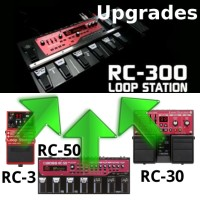 *Die* Referenz in Sachen Looper: Boss RC-300 - upgrade now!
