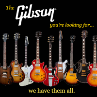The most Gibson models in stock
