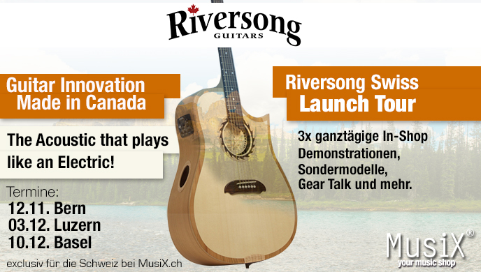 Riversong Swiss Launch Tour