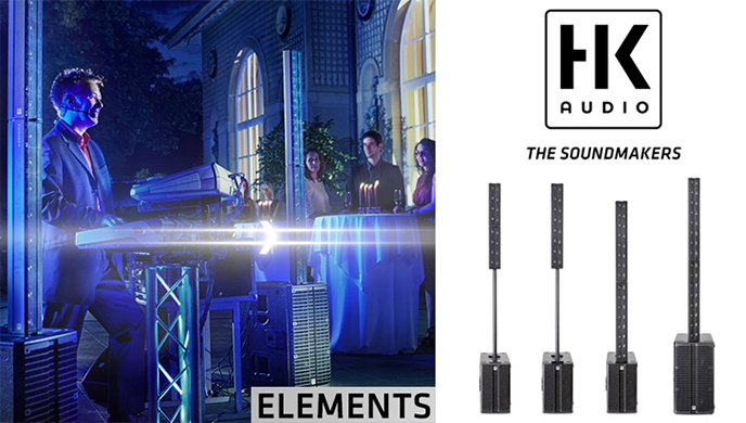 HK Elements - The ingeniously different PA