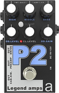 AMT Electronics P2 Preamp Pedale