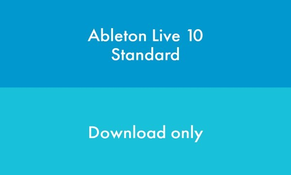 Ableton Live 10 Standard - Upgrade from Live Intro 'ESD' (download version + free version 11 upgrade) Download-Lizenzen