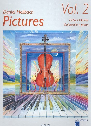 Acanthus Pictures Vol 2 Hellbach Daniel (VC/Pno) Cello Songbooks