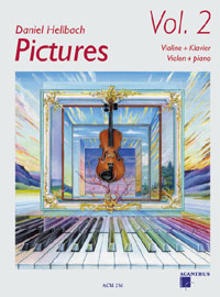 Acanthus Pictures Vol 2 Hellbach Daniel (Vl/Pno) Violin Songbooks