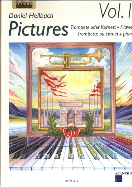 Acanthus Pictures Vol.1 Hellbach Daniel (incl. CD) Songbooks for Brass Instruments