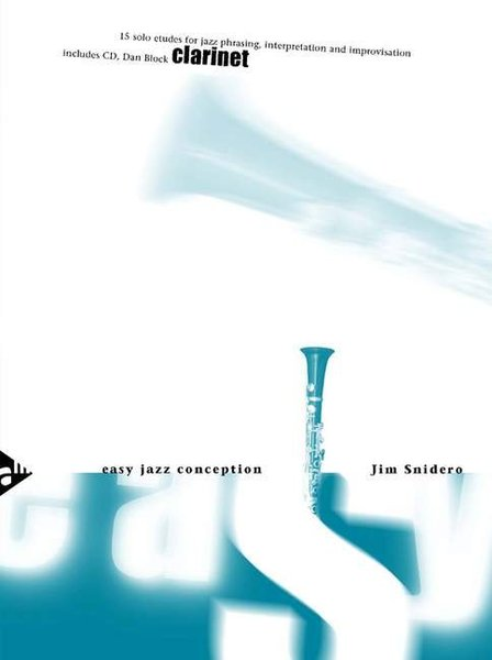 Advanced Music Products Easy Jazz Conception Snidero Jim / 15 Solo Etudes (clarinet) Songbooks for Clarinet