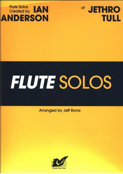 Alfred Flute solos of Ian Anderson Jethro-Tull Songbooks for Flute