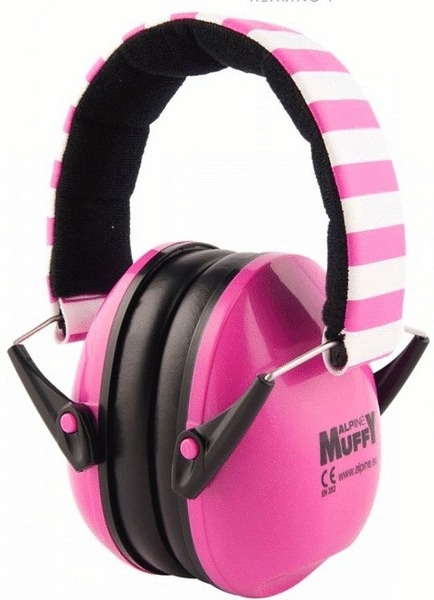 Alpine Muffy Kids (pink) Over-Ear Earmuffs