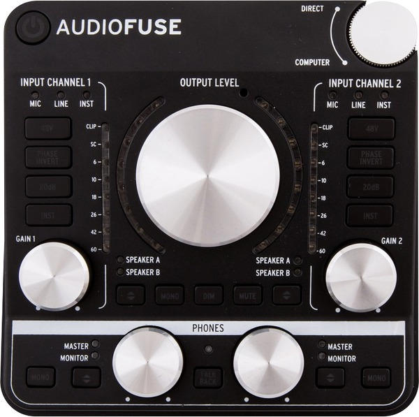 Arturia AudioFuse (Black) USB Interface