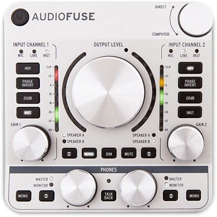 Arturia AudioFuse (Silver) USB Interface