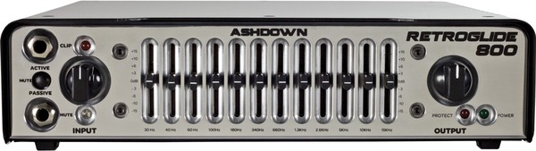 Ashdown Retroglide 800 Bass Heads