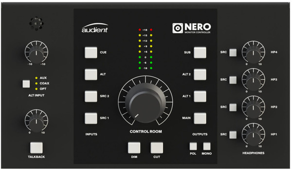 Audient Nero Monitor Controllers