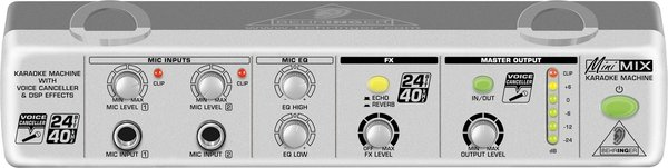 Behringer MIX800 Minimix Voice Effects & Processors