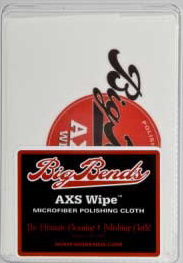 BigBends AXS Wipe Microfiber Cloth Guitar Polishing Cloths
