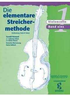 Boosey & Hawkes Elementare Streichermethod.V.1 Nelson Sheila M. (Vc) Textbooks for Cello