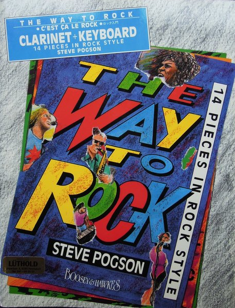 Boosey & Hawkes Way to rock Pogson Steve Songbooks for Flute