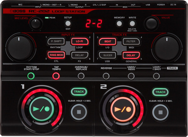 Boss RC-202 Loop Station Voice Processor