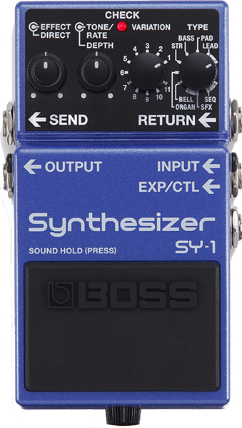 Boss SY-1 Guitar Synthesizer Synthesizer Pedals