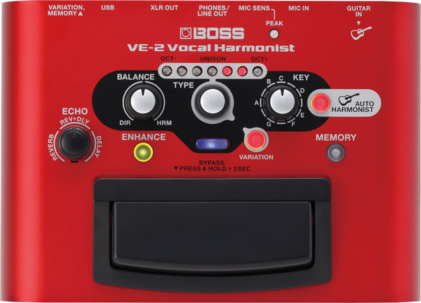 Boss VE-2 Vocal Harmonist