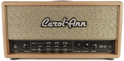 Carol-Ann Amplifiers OD-2r Head (brown)