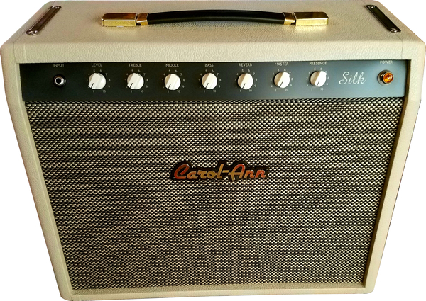 Carol-Ann Amplifiers Silk 1x12' Combo (cream knobs)