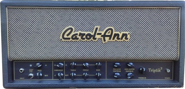 Carol-Ann Amplifiers Triptik 2 LP (black)