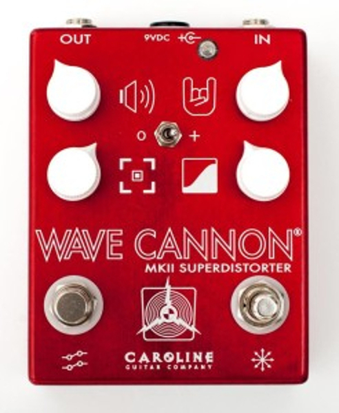Caroline Guitar Company Wave Cannon Overdrive MKII Distortion Pedals