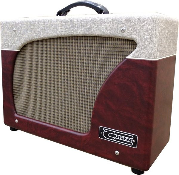 Carr Amplifiers Impala 44W 6L6 1x12 Combo Amp (wine red & schlub grey)