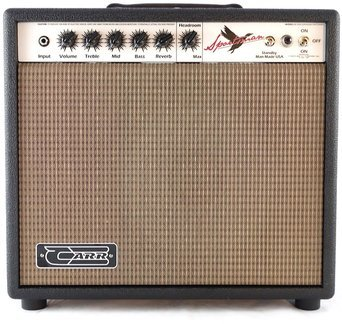 Carr Amplifiers Sportsman 1-12 Combo (black) Combo guitarra Tubo