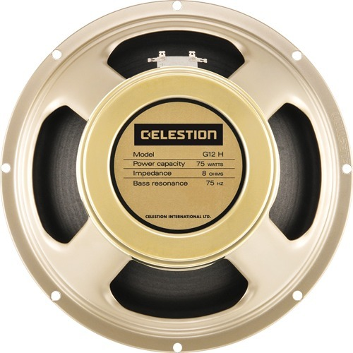 "Celestion G12H-75 Creamback (8 Ohm) 12"" Speakers"