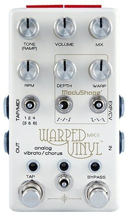 Chase Bliss Audio Warped Vinyl MKII / Analog Vibrato