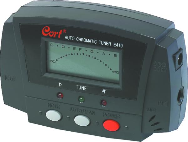 Cort E410 Chromatic Tuner Guitar & Bass Tuners