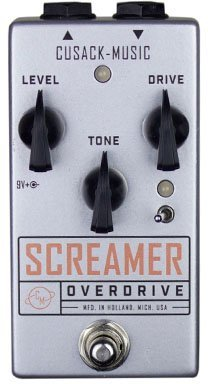 Cusack Music Screamer Overdrive Printed