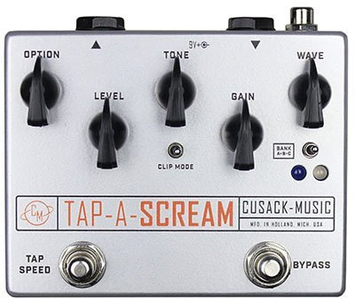 Cusack Music Tap-A-Scream Overdrive Tremolo