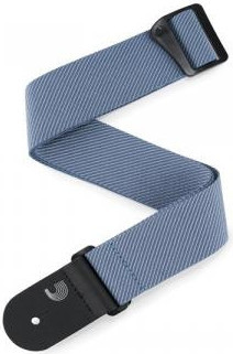 D'Addario 50TW02 Classic Tweed Straps (Blue) Pasek do Gitary
