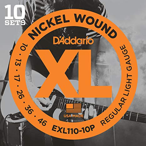 D'Addario EXL110 Regular Light / 010-046 (10 sets)