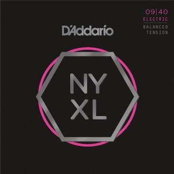 D'Addario NYXL0940BT .009-.040 Super Light Balanced Tension .009 Electric Guitar String Sets