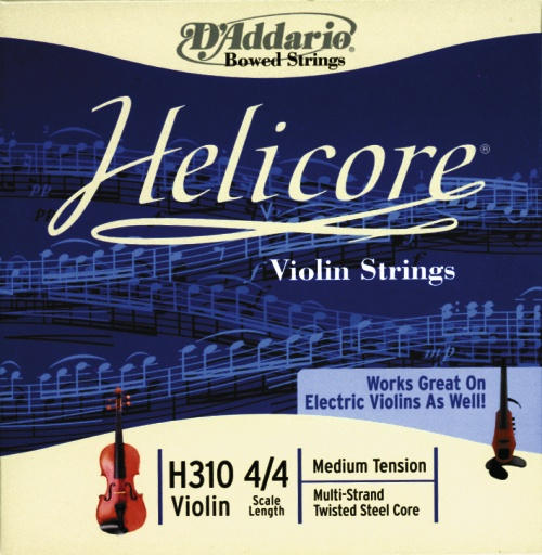 D'Addario Steel Core (G Silver Wound Medium) Single G-Strings for 4/4 Violin