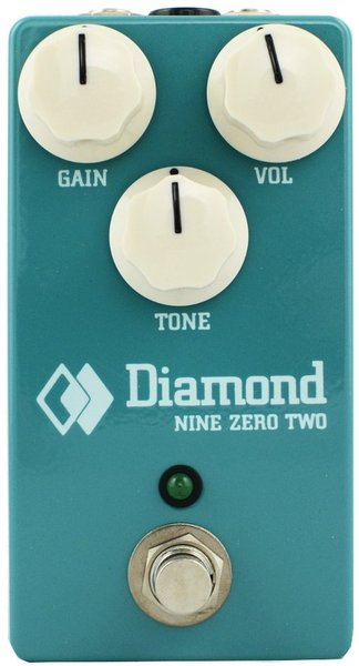 Diamond Pedals Nine Zero Two Classic Overdrive Distortion Pedals