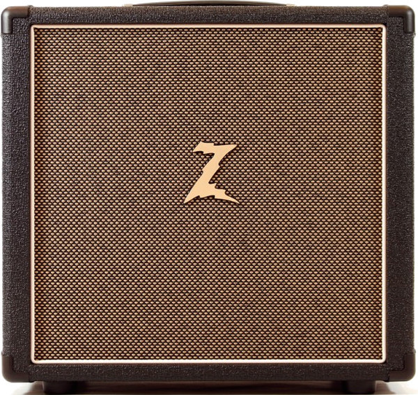 Dr. Z Amplification 1x10 Cab with Eminence Z10 (custom design) (black/tan)