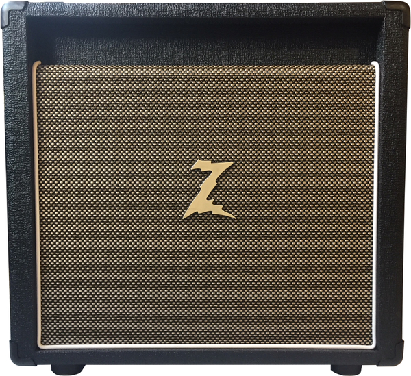 Dr. Z Amplification 1x10 Cabinet with Brake Lite Attenuator (black)