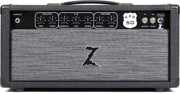 Dr. Z Amplification EZG-50 Head (black)