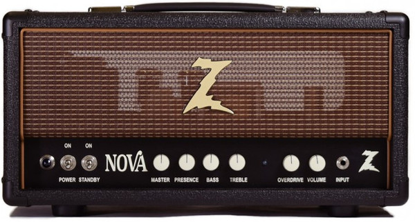 Dr. Z Amplification Nova Head (black/oxblood)