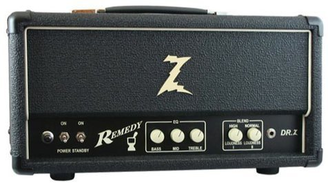 Dr. Z Amplification Remedy Head (black)