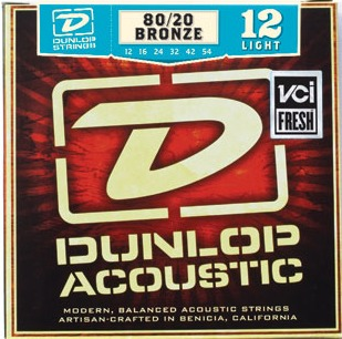 Dunlop Acoustic 80/20 (Light 012-054)