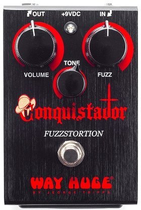 Dunlop Conquistador Fuzzstortion Distortion Pedals