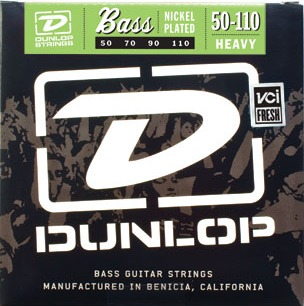 Dunlop DBN50110 (Heavey) 4-String Electric Bass String Sets .050