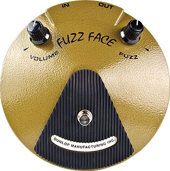 Dunlop EJF1 Fuzz Face signature Eric Johnson Distortion Pedals