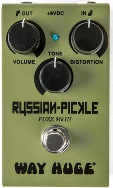 Dunlop Smalls Russian Pickle (fuzz MkIII) Distortion Pedals